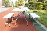 6ft folding table and bench set