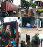 Toothpaste Making Machine Production Line Shipped to Iran -June 22th