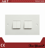 10A 4-G D.P WALL SWITCH