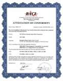 CE authentification certificate (olt-4000)