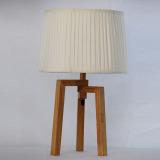 the indoor wood lamp
