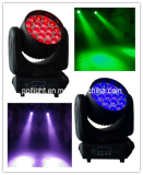 19pcs 12W 4-in-1 ZOOM moving head beam light 2 phase