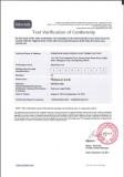 HONGLG Intertek Certification