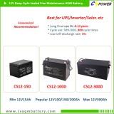 CSPOWER deep cycle AGM battery upto 12v250ah