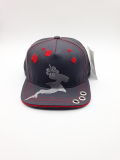 embroidered snapback cap
