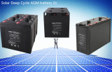 Solar Deep Cycle AGM Battery 2v series