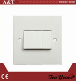10A 3-G D.P WALL SWITCH BS