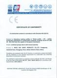 CE Certification of Torsion Spring Garage Door (Motorised) 1/2