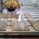 Granite stone cutting