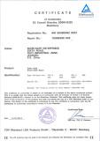 TUV Certificate of Chain Hoist - Hand Chain Block