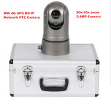Low Cost WiFi 4G GPS HD Portable Network PTZ Camera