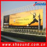 Frontlit flex banner