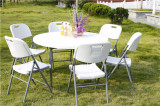 4ft round folding banquet table