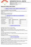 Bronze PLA MSDS Report