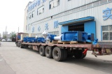 DN1800 Electric Bi-directional sealing butterfly valve delivery