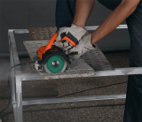 Marble cutter testing