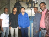 overseas service in Ethiopia for 2*2ton