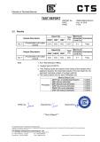 Phthalate free test