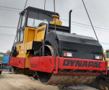 Loading Dynapac CC422 Double Drum Roller