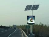 Solar Power LED Display Screen Video Advertising Billboard