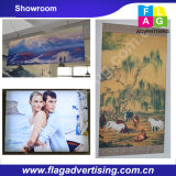 Products in our showroom------Hanging Banner, Display Banner, Pop up banner, Tension Fabric Display.