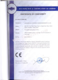 CE Certification of Washing Filling Capping Machine