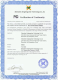 FCC Verification of Conformity