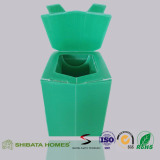 Portable Toilets for Disaster and Emergency Corrugated Plastic Toilet