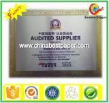 SGS 2015 Certificate