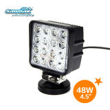 """48W 4"""" LED Work Light for Tractor Truck Working Headlamp SM6481"""