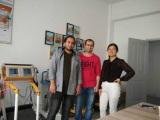 Palestine Customer Visit our company