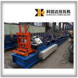 KXD Pre-cutting and punching full automatic C purlin making machine