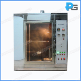 Application of needle flame test apparatus according to IEC60695-11-5