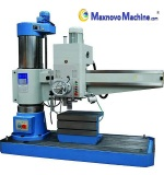 Precise Working, Solid Heavy Duty Radial Drilling Machine (MM-R60, Maxnovo Machine)