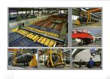 Tanker forming line and auto-welding line