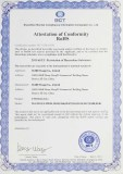 Attestation of Conformity RoHS