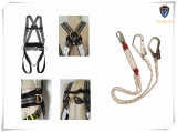 PROFESSIONAL Full body harness + Y-absorber Fall protection Climbing Belt K