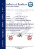 4-16ton telescopic truck crane CE certification
