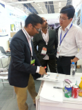 solution to the costumer ,Plastics Exhibition