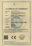 Kingconn solar light CE certificate
