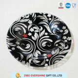 Glass Plates with Hollow out of Decal