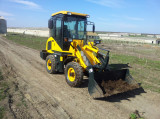 Small loader ZL10 work in Europe