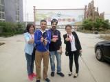 Kuwait customers to shandong Hengwang group to visit procurement