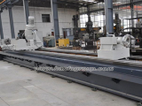Spiral drill pipe rotor milling machine