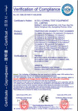 CE Certification for Temperature (Humidity) Test Chamber