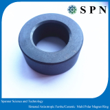 Permanent ferrite magnetic core