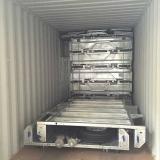 fully weld box trailer loading