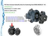 PVC Butterfly Valve ANSI ASTM Standard