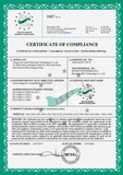 CE certificate-motor