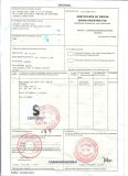 Certificate of origin China-Pakistan FTA